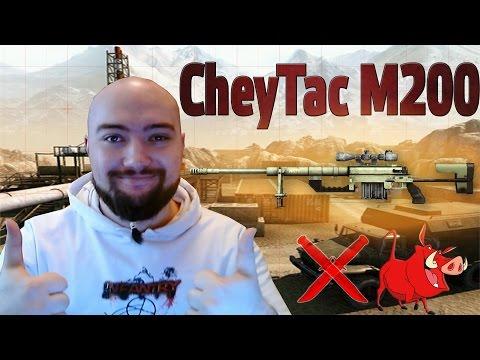 WarFace Обзор на CheyTac M200 - на Кабанчика :3