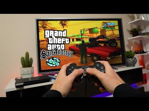 GTA San Andreas PS2 - POV GAMEPLAY AND Test   Freeroam