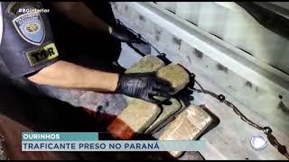 Polícia de Ourinhos prende traficante no Paraná