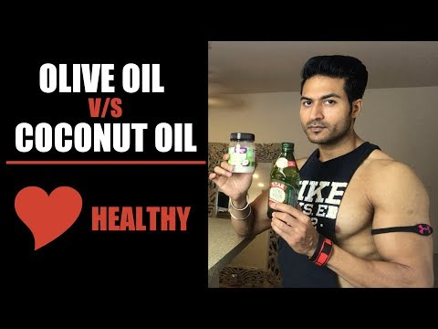 Olive Oil v/s Coconut Oil | Which oil is Heart Healthy? Complete Info by Guru Mann