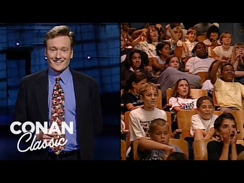 Conan's All Kids Audience Show | Late Night with Conan O'Brien