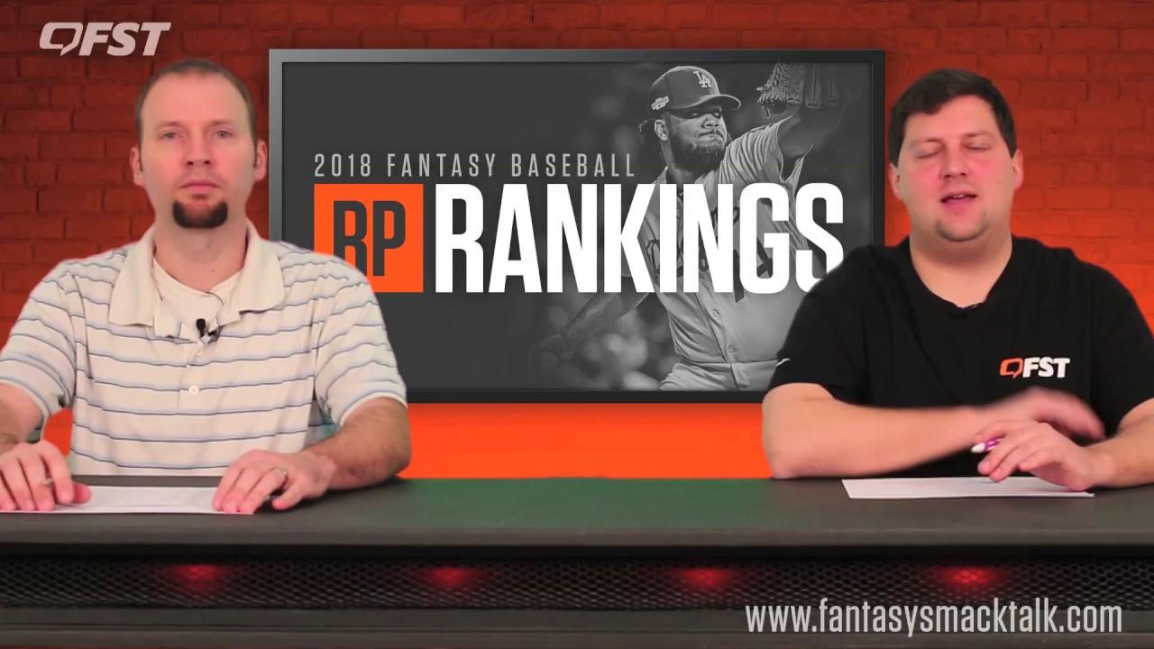 2018 Fantasy Baseball Relief Pitcher Rankings thumbnail