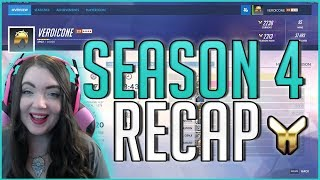 Season 4 ended recently and I wanted to make a video recapping how the season went for me, and also discuss my hopes for season 5! Season 5 started Wednesday  night, this video wad filmed Wednesday morning.Thanks for watching! I upload new videos weekly. Don't forget to subscribe, like, and comment.Find MeTwitch: http://twitch.tv/veroicone (stream weekly!)Twitter: http://twitter.com/veroiconeInstagram: http://instagram.com/veroiconeDiscord Server: https://discord.gg/4BwcgsUWebsite: http://veroicone.comAmazon Wishlist: http://amzn.com/w/3EP7VQPGX5VTV