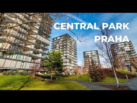 Video Luxusní byt s terasou a předzahrádkou, 92+43 m2, Central Park Praha, Žižkov