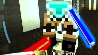 Minecraft Mod Battle - STAR WARS PVP MOD! - w/Preston, Vikkstar123&Nooch