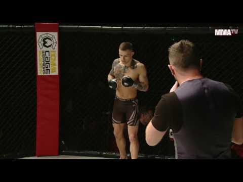 Edijs Pesiks vs Nicolas Eriksen - 155lbs Amateur MMA Contest (видео)