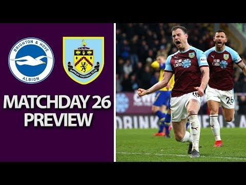 Video: Brighton v. Burnley | PREMIER LEAGUE MATCH PREVIEW | 2/9/19 | NBC Sports