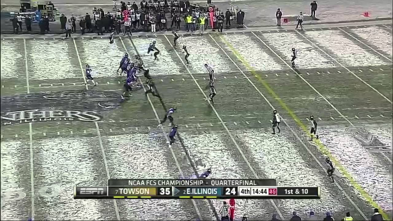 Jimmy Garoppolo vs Towson (2013)
