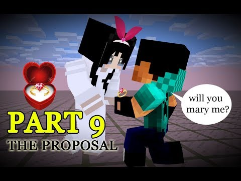 Monster School : Herobrine's Proposal - Best Minecraft Animation