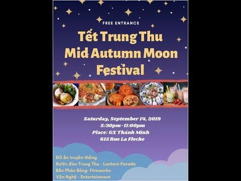 Part 1: GXTM Tết Trung Thu Mid-Autumn Moon Festival. Hội chợ đêm mùa thu, Sept. 14, 2019