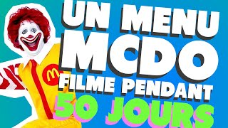 Video UN MENU MCDO FILMÉ PENDANT 50 JOURS (LES ETRANGES EXPERIENCES) MP3, 3GP, MP4, WEBM, AVI, FLV Juli 2018