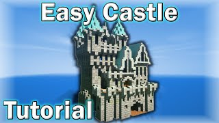 • Minecraft Tutorial: How to Make a Castle! (25x25)