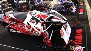 1. 2018 Yamaha Sidewinder L-TX LE 50th Anniversary Sled - Walkaround - 2017 Toronto Snowmobile ATV Show