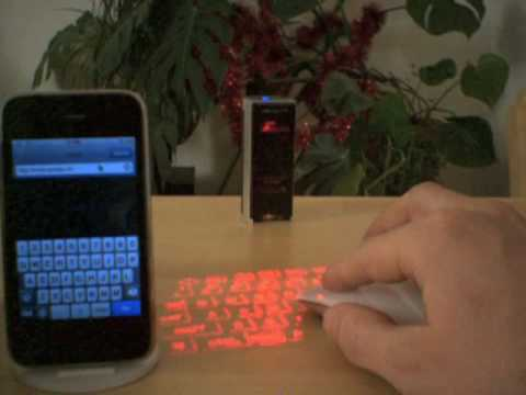 Nomadic Computing: iPhone with Bluetooth Keyboard and Mouse