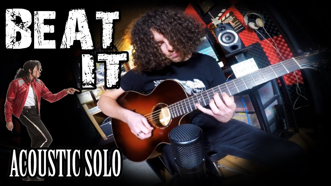 Beat It Solo – Michael Jackson – Acoustic Guitar Cover