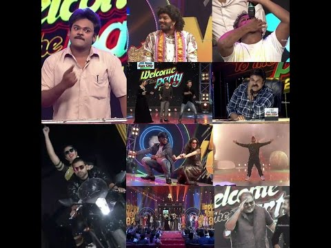 New Year Special Event Promo 4 | Welcome to the party 2017 | Jabardasth | Dhee Jodi teams