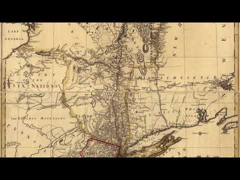 New York Colony Map