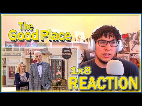 EVERY EPISODE ENDS WITH A BANG! | The Good Place 1x8 REACTION | Season 1 Episode 8