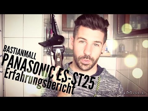 Panasonic ES-ST25 Mein Fazit  Nass & Trockenrasierer  #BastianMall