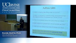 Molecular Structure&Statistical Mechanics 131B. Lecture 13. Electronic Spectroscopy (Pt. II)