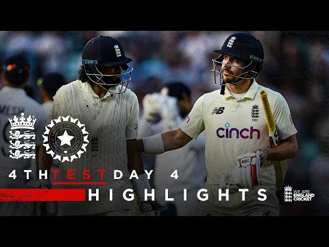 A Belter in Prospect For Day 5! | England v India - Day 4 Highlights | 4th LV= Insurance Test 2021