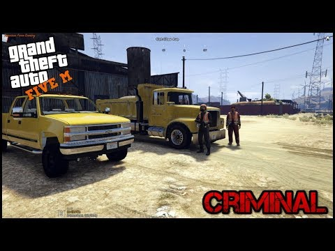 GTA 5 ROLEPLAY - CONSTRUCTION WORK ROBBERY - EP. 52 - CRIMINAL