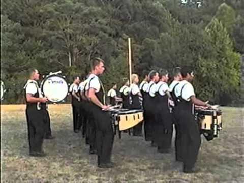 Boston Crusaders drumline 2002 - 1 of 2