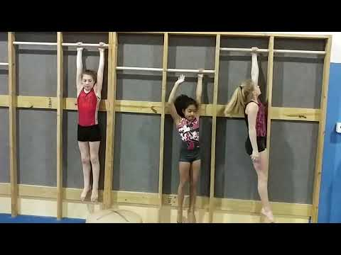 Magma Gymnastics Conditioning for Uneven Bar Specific Skills: Bails Overshoots Blinds Giengers (видео)