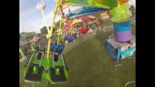 Flying Carpet Ride Video