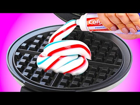 Cool Tricks With Toothpaste