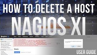 How to Delete A Host in Nagios XI