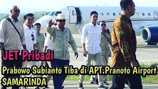 Download Video Jet Pribadi Prabowo Subianto tiba di SAMARINDA Bandara APT.Pranoto. MP3 3GP MP4