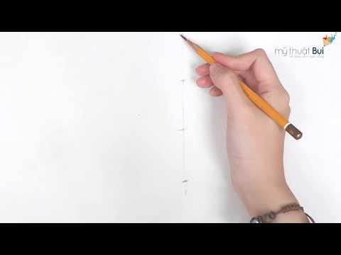 Học vẽ cũng Mỹ thuật Bụi - Luyện nét vẽ tay