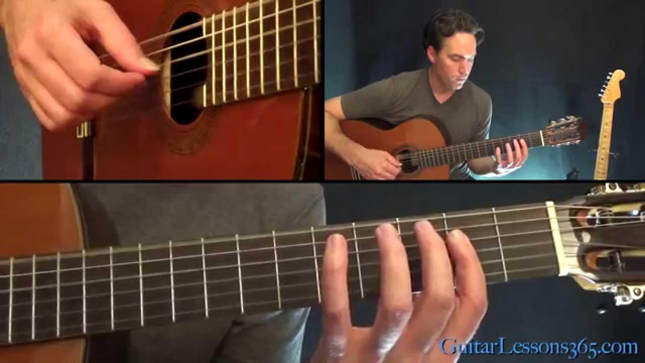 The Unforgiven Guitar Lesson – Metallica – Acoustic Guitar Parts