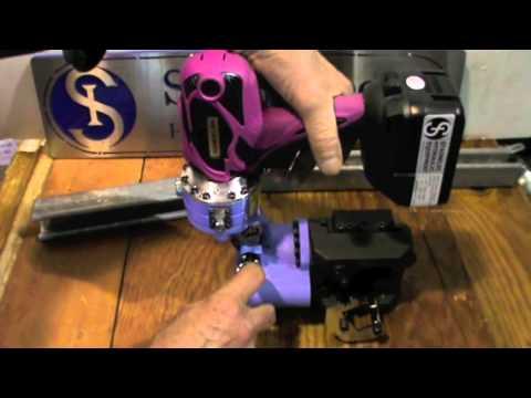 Cordless Metal Strut Cutter   Kamekura M-40LB