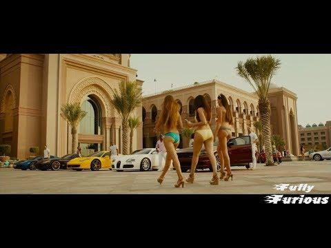 Furious 7 (2015) Going to Abudaibi scene hd