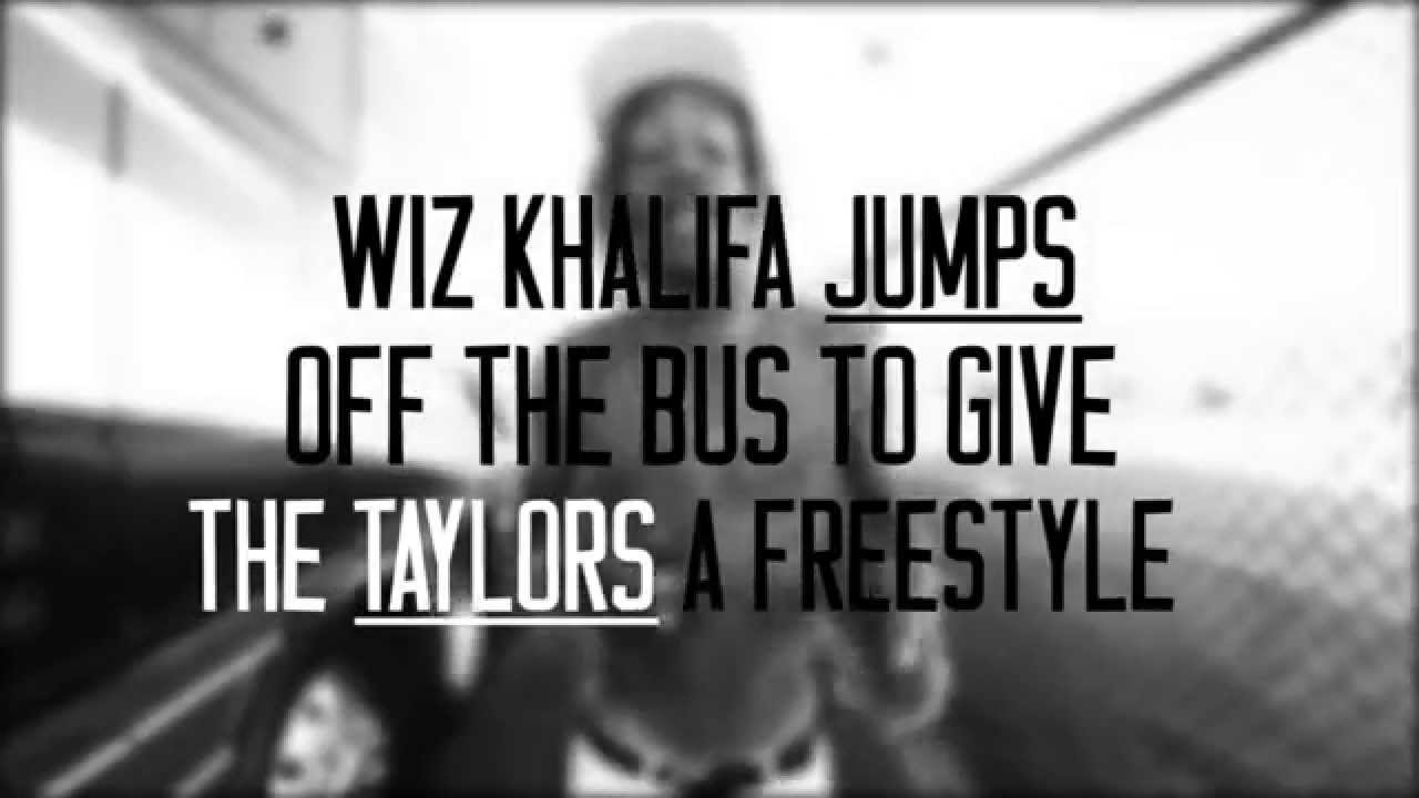 Wiz Khalifa Freestyle Outside His Tour Bus (Video)