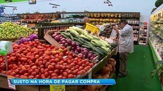 Dólar e inflação impactam preços nos supermercados e produtos estão mais caros
