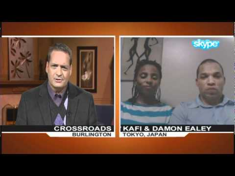 Japan Earthquake Eyewitnesses - Damon &amp; Kafi Ealey - Stay In Touch - Ron Mainse