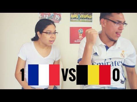 Reacción Francia Vs Bélgica (1-0) 10/07/2018 Copa del mundo 2018