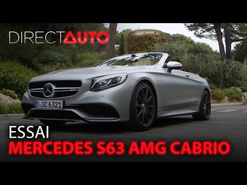 Mercedes-benz Classe S Cabriolet - Classe S Cabriolet 63 AMG 4Matic Speedshift MCT AMG