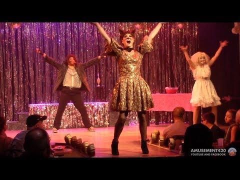 SPOOKY SHENANIGANS Cedar Point HalloWeekends Live Show 2017   amusement420 (видео)