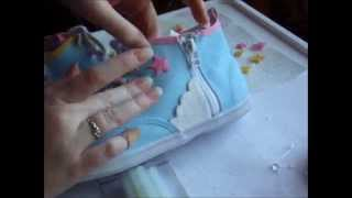 DIY: Personalized Shoes! ♥ - YouTube