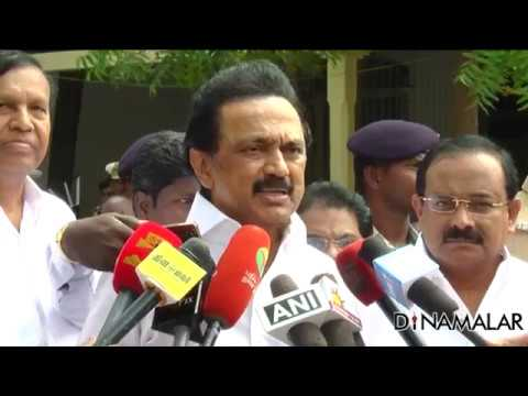 Video M.K Stalin warns Sasikala | Don't touch DMK party name download in MP3, 3GP, MP4, WEBM, AVI, FLV January 2017