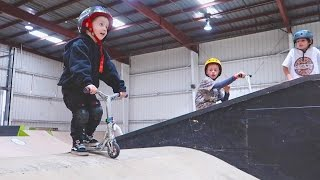 INSANE 2 YEAR OLD SCOOTER TRICKS!