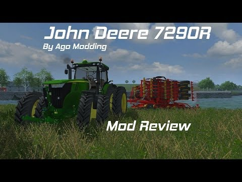 Farming Simulator 2013 John Deere 7290R By Ago Modding Review