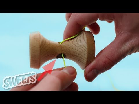 Video How to String a Kendama - Sweets Kendamas Tutorial download in MP3, 3GP, MP4, WEBM, AVI, FLV January 2017