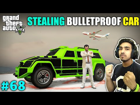 THIS BULLETPROOF CAR SAVE US FROM MAFIA | GTA V GAMEPLAY #68