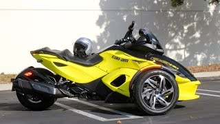9. REVIEW: 2014 Can-Am Spyder RS-S