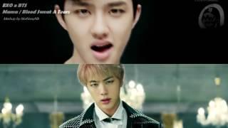 Video EXO/BTS - Mama/Blood Sweat & Tears ( MashUp ♪ ) MP3, 3GP, MP4, WEBM, AVI, FLV Januari 2018